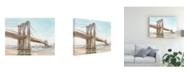 "Trademark Global Ethan Harper Iconic Watercolor Bridge II Canvas Art - 27"" x 33.5"""