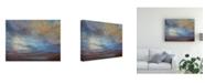 "Trademark Global Sheila Finch Coastal Clouds I Canvas Art - 27"" x 33.5"""