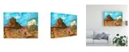 "Trademark Global Peter Potter Sedona Potter Canvas Art - 15.5"" x 21"""