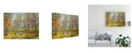 "Trademark Global Peter Snyder Autumn Dance Kids Ability Canvas Art - 15.5"" x 21"""