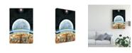 "Trademark Global Peter Potter Life on Mars Light Canvas Art - 36.5"" x 48"""