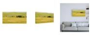"""Trademark Global Dan Ballard Farm Green Canvas Art - 19.5"""" x 26"""""""