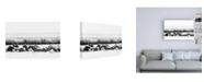 "Trademark Global PH Burchett Water Horses III Canvas Art - 15.5"" x 21"""