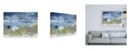 "Trademark Global Christina Long Eastern Winds II Canvas Art - 15.5"" x 21"""