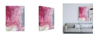 "Trademark Global Joyce Combs Magenta Dream I Canvas Art - 15.5"" x 21"""