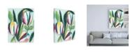 "Trademark Global June Erica Vess Bright Bounty I Canvas Art - 15.5"" x 21"""