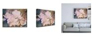 "Trademark Global Sharon Chandler Blush Gardenia Beauty I Canvas Art - 27"" x 33.5"""