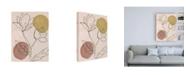 "Trademark Global Melissa Wang Blush II Canvas Art - 15.5"" x 21"""