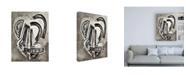 "Trademark Global Rob Delamater Etruscan Vessel I Canvas Art - 15.5"" x 21"""