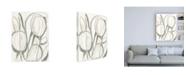 "Trademark Global June Erica Vess Neutral Tropical I Canvas Art - 27"" x 33.5"""