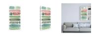 "Trademark Global Melissa Wang Phases of Joy I Canvas Art - 27"" x 33.5"""