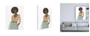 "Trademark Global June Erica Vess Fashion Vignette II Canvas Art - 27"" x 33.5"""