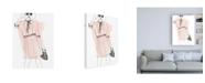 "Trademark Global June Erica Vess Fashion Sketches I Canvas Art - 27"" x 33.5"""