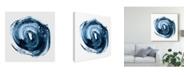 "Trademark Global Ethan Harper Indigo Nebula II Canvas Art - 20"" x 25"""