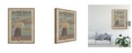 "Trademark Global June Erica Vess Retro Golf II Canvas Art - 37"" x 49"""