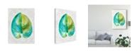 "Trademark Global Chariklia Zarris Ocean Side Palms I Canvas Art - 20"" x 25"""