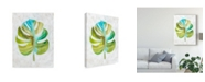 "Trademark Global Chariklia Zarris Ocean Side Palms III Canvas Art - 37"" x 49"""