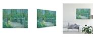 "Trademark Global Julie Joy A River Crossing I Canvas Art - 20"" x 25"""