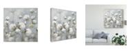 "Trademark Global Julia Purinton Cotton Field Blue Gray Crop Canvas Art - 15"" x 20"""