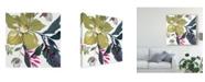 "Trademark Global Kristy Rice Hellebore Ya Doing I Canvas Art - 27"" x 33"""