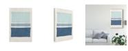 "Trademark Global Piper Rhue Painted Weaving V Crop Canvas Art - 37"" x 49"""