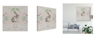 "Trademark Global Naomi Mccavitt Hare & Antlers II Canvas Art - 27"" x 33"""
