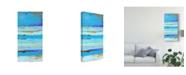 "Trademark Global Erin Ashley Blue Jam II Canvas Art - 20"" x 25"""