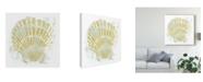 "Trademark Global June Erica Vess Seaside Block Prints I Canvas Art - 27"" x 33"""
