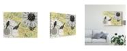 "Trademark Global Jade Reynolds Birds on a Wire I Canvas Art - 37"" x 49"""