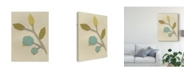 "Trademark Global June Erica Vess Simple Stems II Canvas Art - 20"" x 25"""