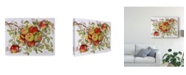 "Trademark Global Marcia Matcham Apples on a Branch Canvas Art - 20"" x 25"""
