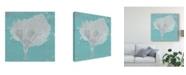 "Trademark Global Studio W Graphic Sea Fan VIII Canvas Art - 27"" x 33"""