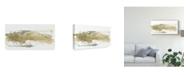 "Trademark Global June Erica Vess Neutral Geology II Canvas Art - 37"" x 49"""