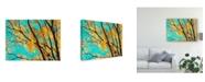 "Trademark Global Judy Stalus Autumn Tapestry IV Canvas Art - 15"" x 20"""