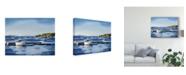 "Trademark Global Emily Kalina Peaceful Harbor II Canvas Art - 37"" x 49"""