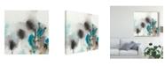 "Trademark Global June Erica Vess Cerulean Mirage I Canvas Art - 27"" x 33"""