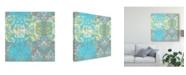 "Trademark Global Jennifer Goldberger Decorative Overlay I Canvas Art - 15"" x 20"""
