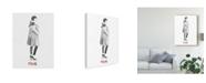 "Trademark Global Naomi Mccavitt Fashion Week Sketch II Canvas Art - 37"" x 49"""