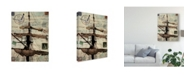 "Trademark Global Sandy Lloyd Journey Sails Canvas Art - 37"" x 49"""