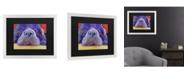 """Trademark Global Pat Saunders-White Graysea Matted Framed Art - 20"""" x 25"""""""