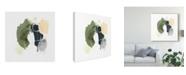 "Trademark Global June Erica Vess Lichen Gesture I Canvas Art - 15"" x 20"""