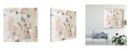 "Trademark Global June Erica Vess Carnivale I Canvas Art - 15"" x 20"""
