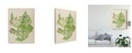 "Trademark Global Melissa Wang Vintage Coral Collection II Canvas Art - 20"" x 25"""