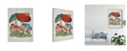 "Trademark Global Chariklia Zarris Mushroom Collection I Canvas Art - 15"" x 20"""