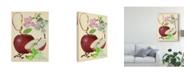 "Trademark Global Melissa Wang Apple and Blossom Study I Canvas Art - 15"" x 20"""
