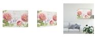 "Trademark Global Danhui Nai Maison Des Fleurs II Canvas Art - 15"" x 20"""