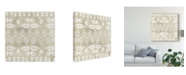 "Trademark Global June Erica Vess Tribal Coast II Canvas Art - 15"" x 20"""