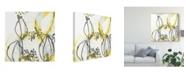 "Trademark Global June Erica Vess Podular III Canvas Art - 27"" x 33"""