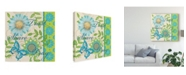"Trademark Global Jade Reynolds Blue Bright Inspiration II Canvas Art - 20"" x 25"""