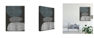 "Trademark Global Jennifer Goldberger Resting Shapes II Canvas Art - 20"" x 25"""